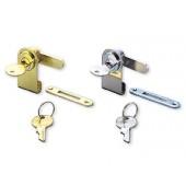1100GL/CR GLASS DOOR LOCK