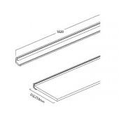EX026-21 FLUQS shelf holder