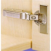 073938 Clip-On 125 Degree Concealed Hinge for -30 Degree Negative Face Angle – Full Overlay / Press-In