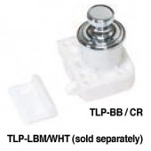 TLP-BB/CR Push Knob and Base (Chrome)