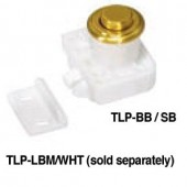 TLP-BB/SB Push Knob and Base (Satin Brass)