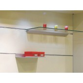 VT-DF Level Adjustable Shelving System (Space Behind Panels)